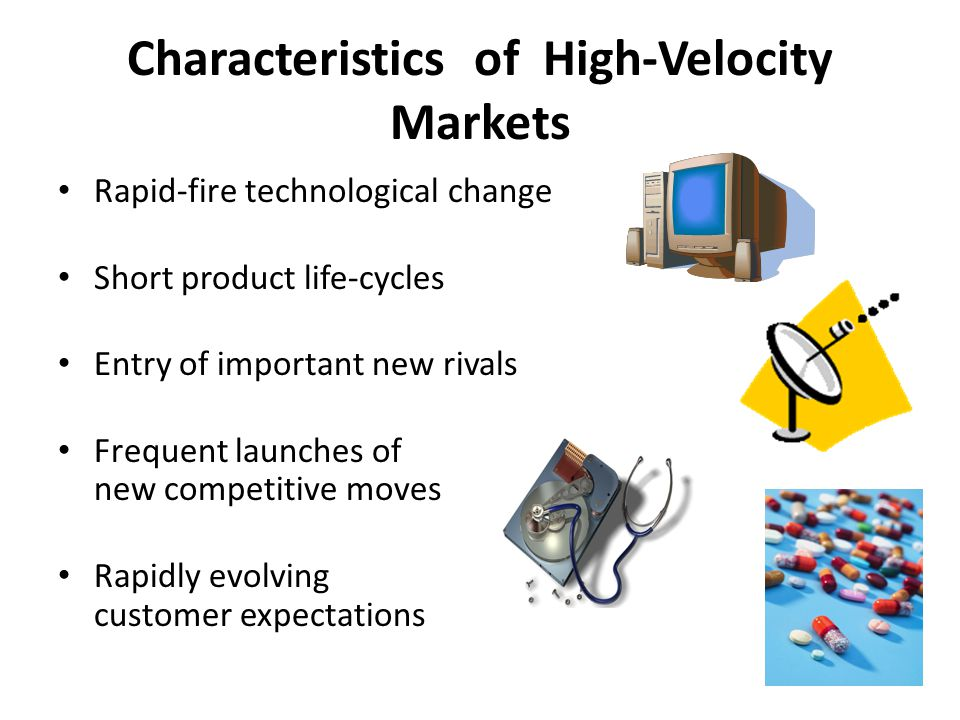 Characteristics of High-Velocity Markets