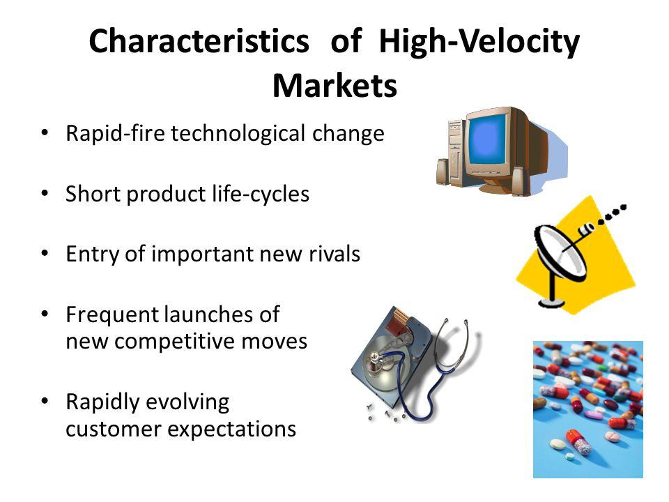 Characteristics of High-Velocity Markets