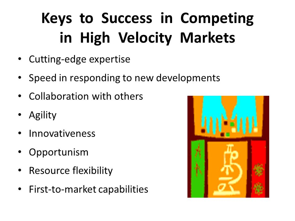 Keys to Success in Competing in High Velocity Markets
