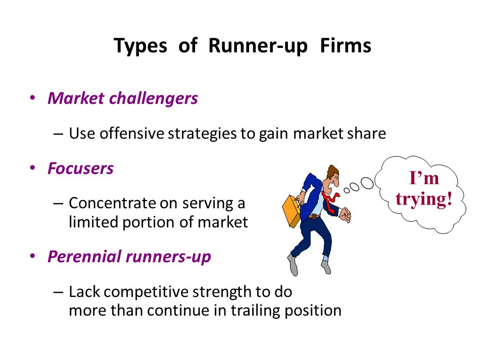 Types of Runner-up Firms