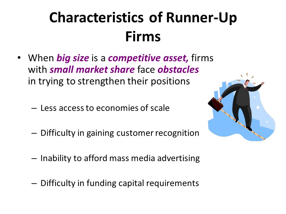 Characteristics of Runner-Up Firms