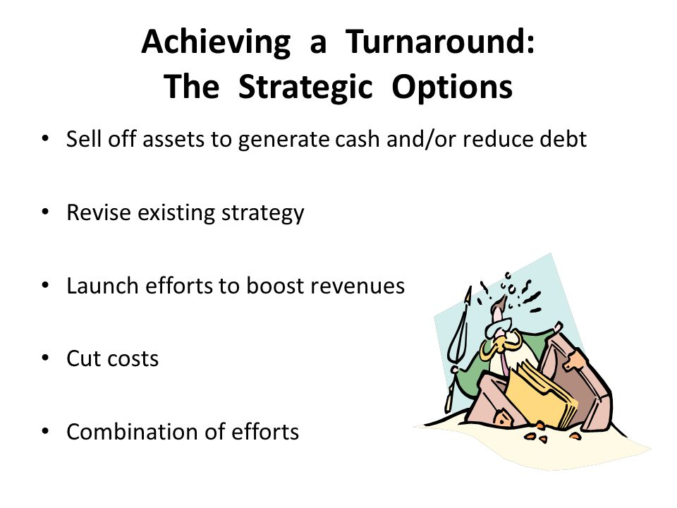 Achieving a Turnaround: The Strategic Options