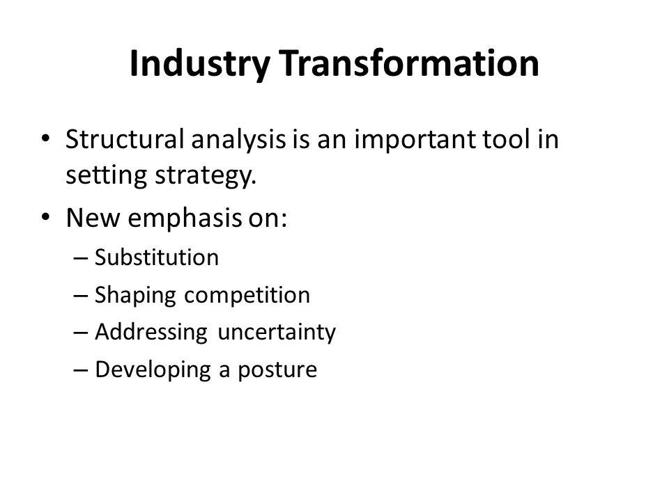 Industry Transformation