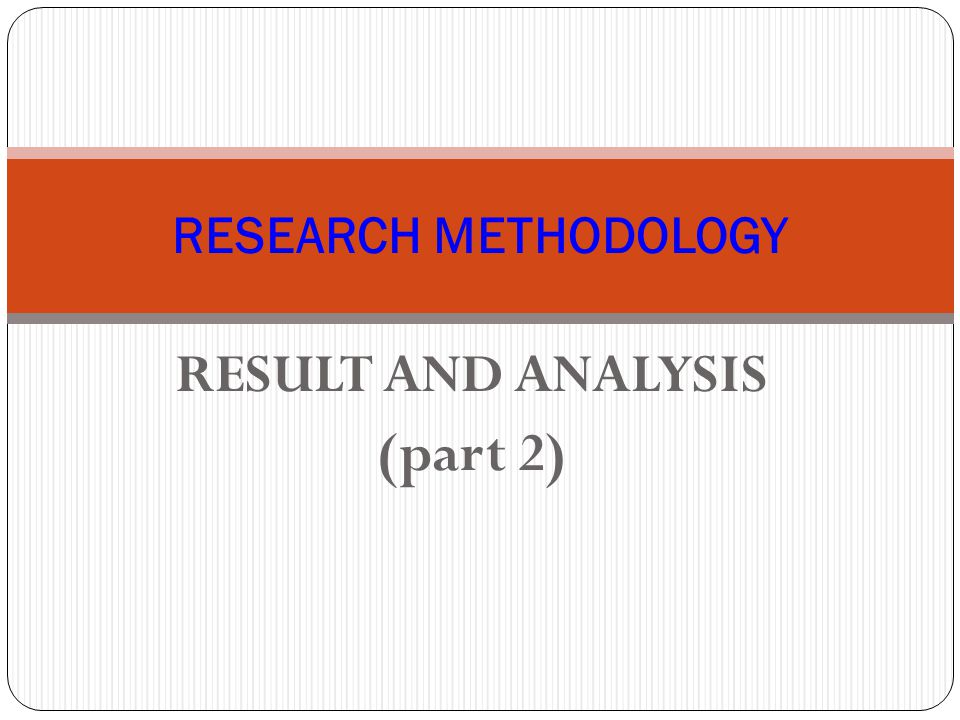 RESULT AND ANALYSIS (part 2)