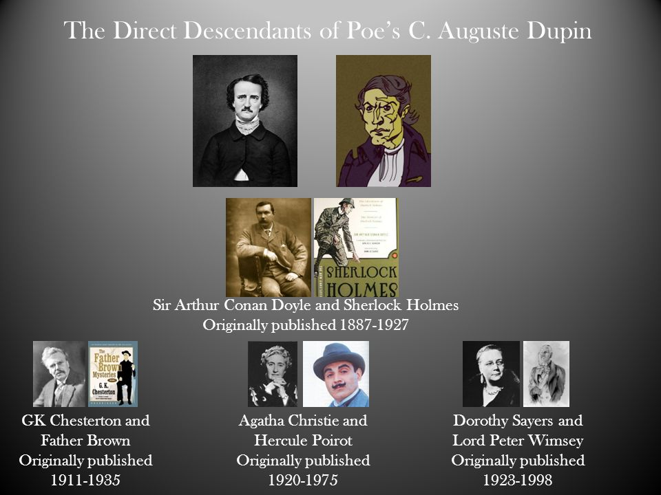 The Direct Descendants of Poe's C. Auguste Dupin