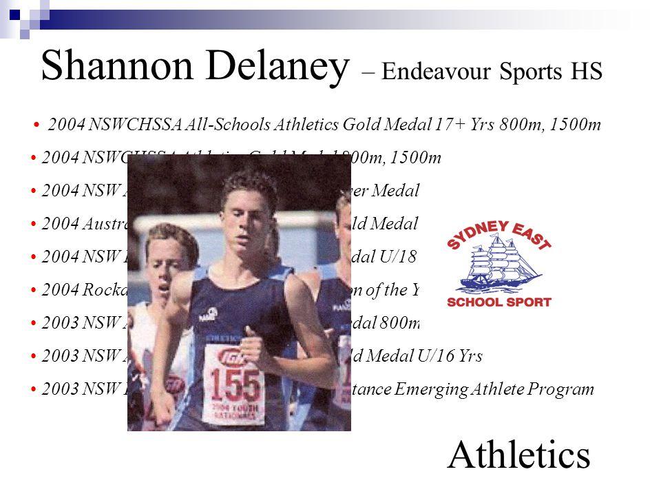 Shannon Delaney – Endeavour Sports HS Athletics