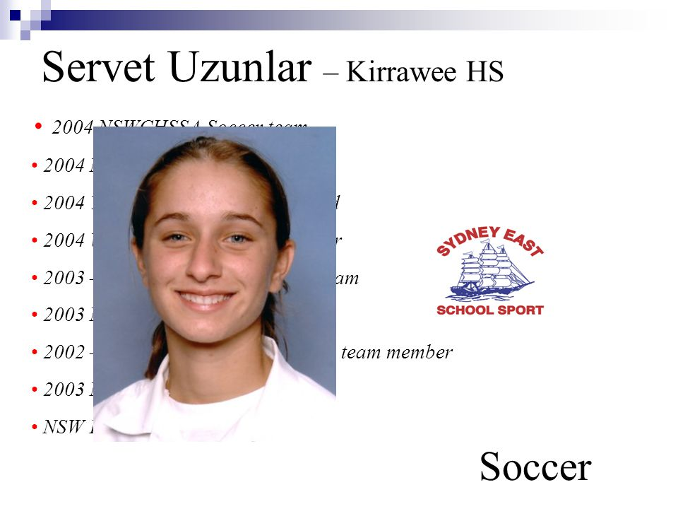 Servet Uzunlar – Kirrawee HS Soccer