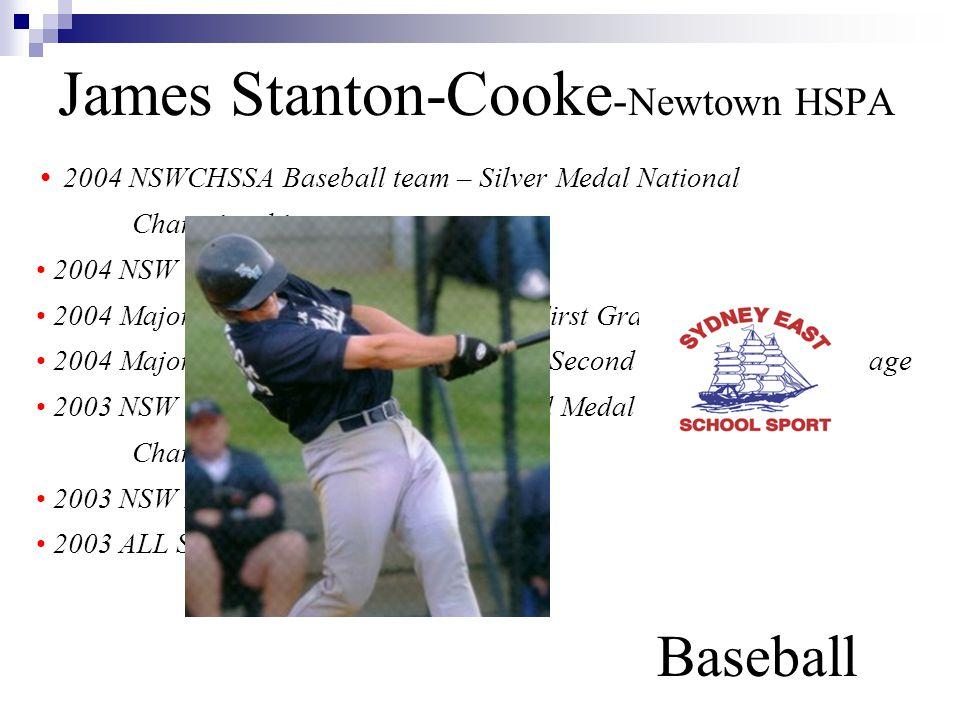 James Stanton-Cooke-Newtown HSPA Baseball