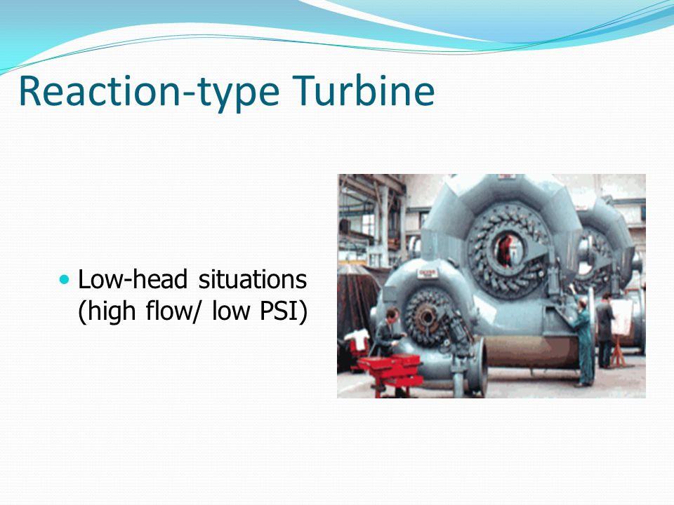 Reaction-type Turbine