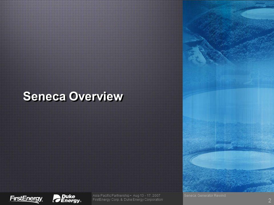 Seneca Overview Seneca: Generator Rewind 2