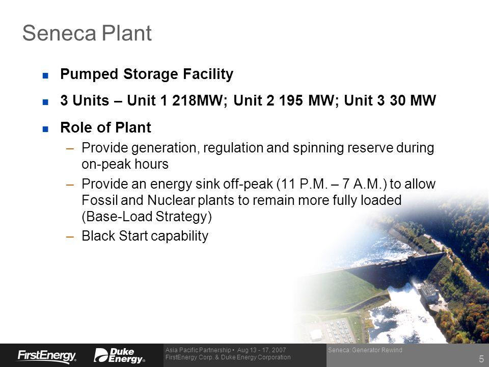 Seneca Plant Pumped Storage Facility