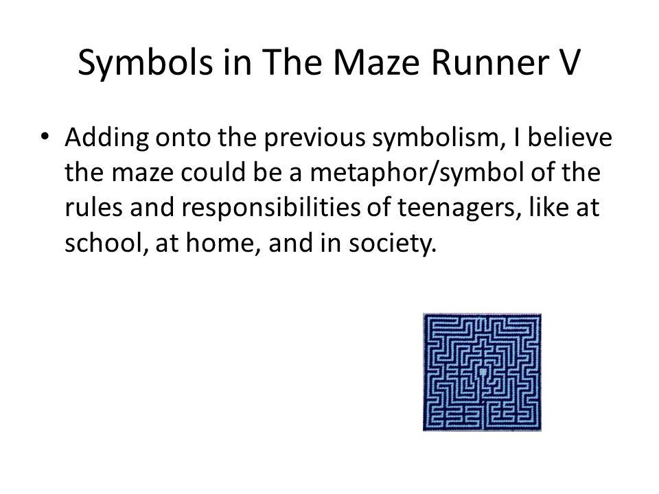Symbols in The Maze Runner V