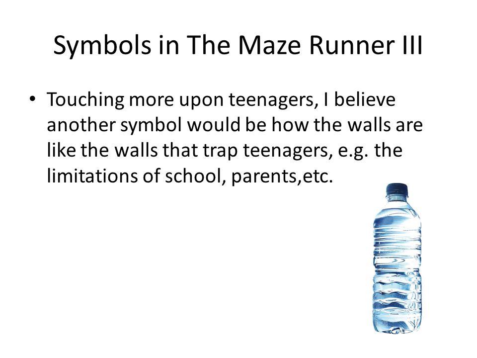 Symbols in The Maze Runner III