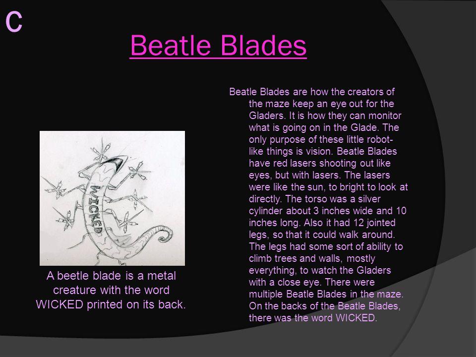 C Beatle Blades.