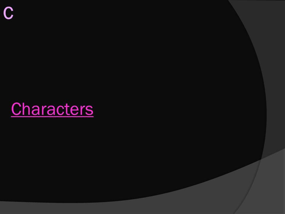 C Characters