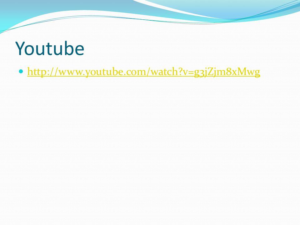 Youtube http://www.youtube.com/watch v=g3jZjm8xMwg