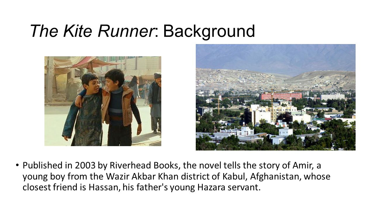The Kite Runner: Background