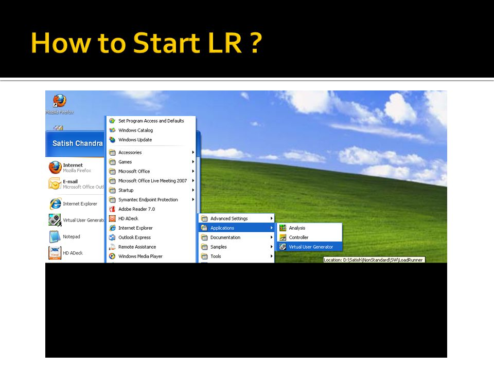 How to Start LR