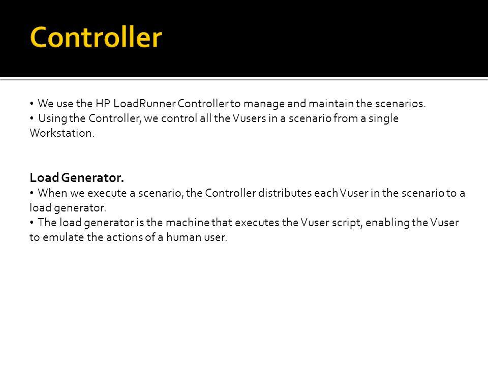 Controller Load Generator.