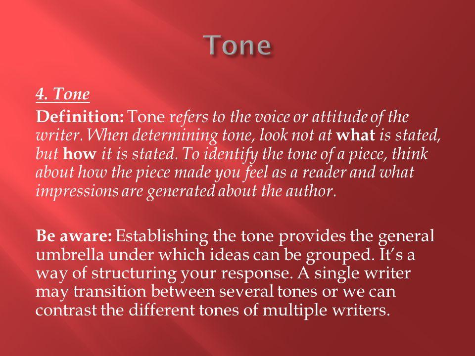 Tone 4. Tone.