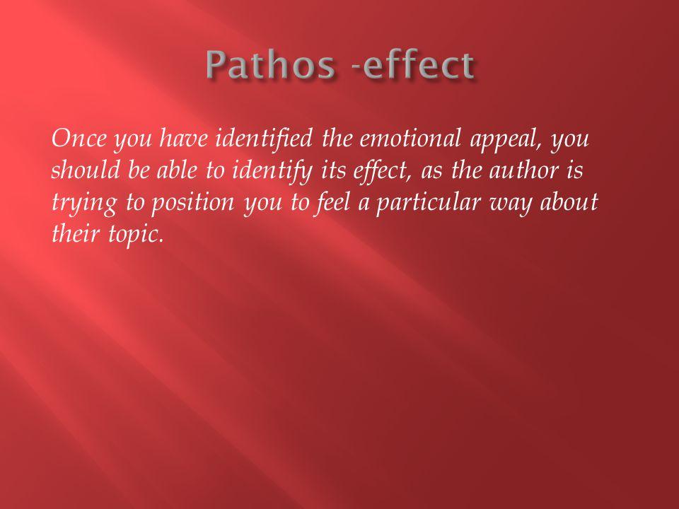 Pathos -effect