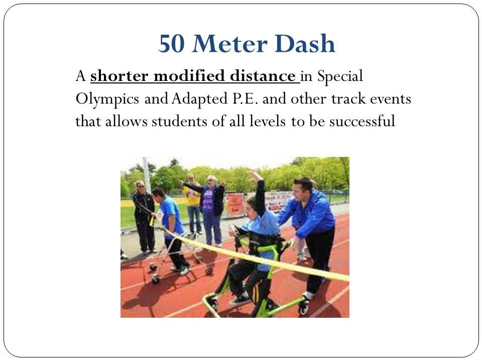 50 Meter Dash