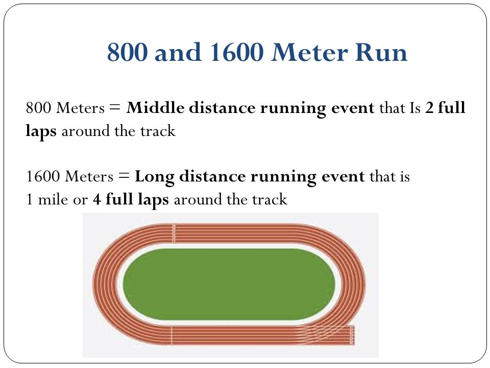 How Long Is A Meter : Track and field ppt video online download