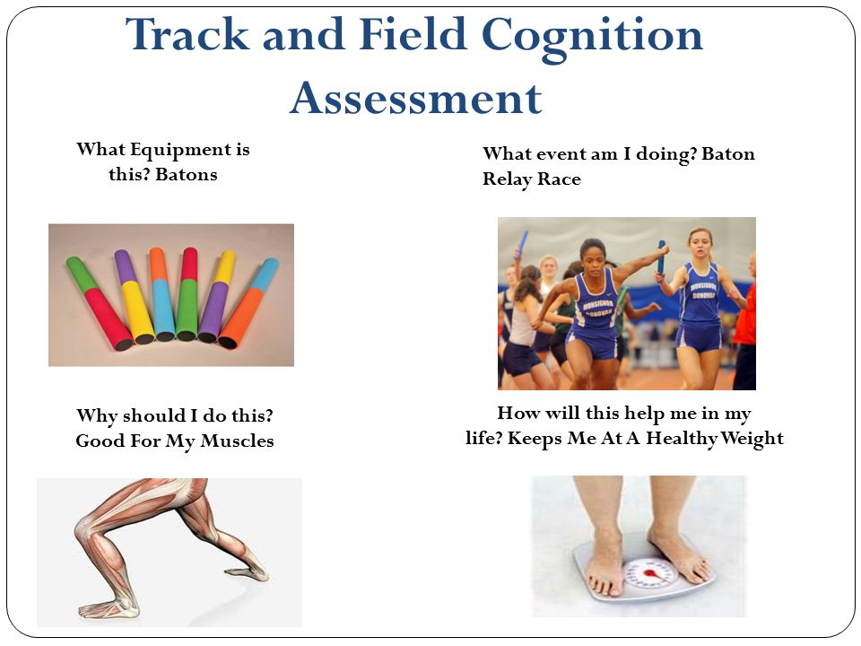 Track and Field Cognition Assessment