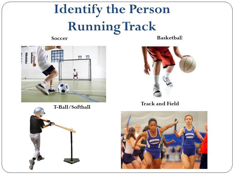 Identify the Person Running Track