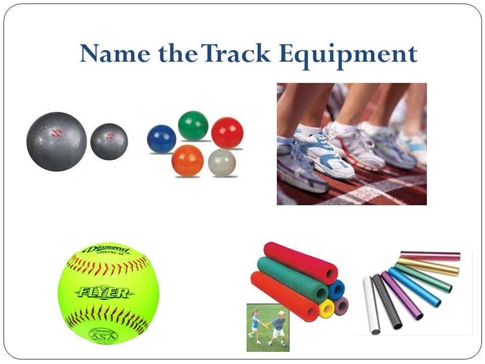 Name the Track Equipment