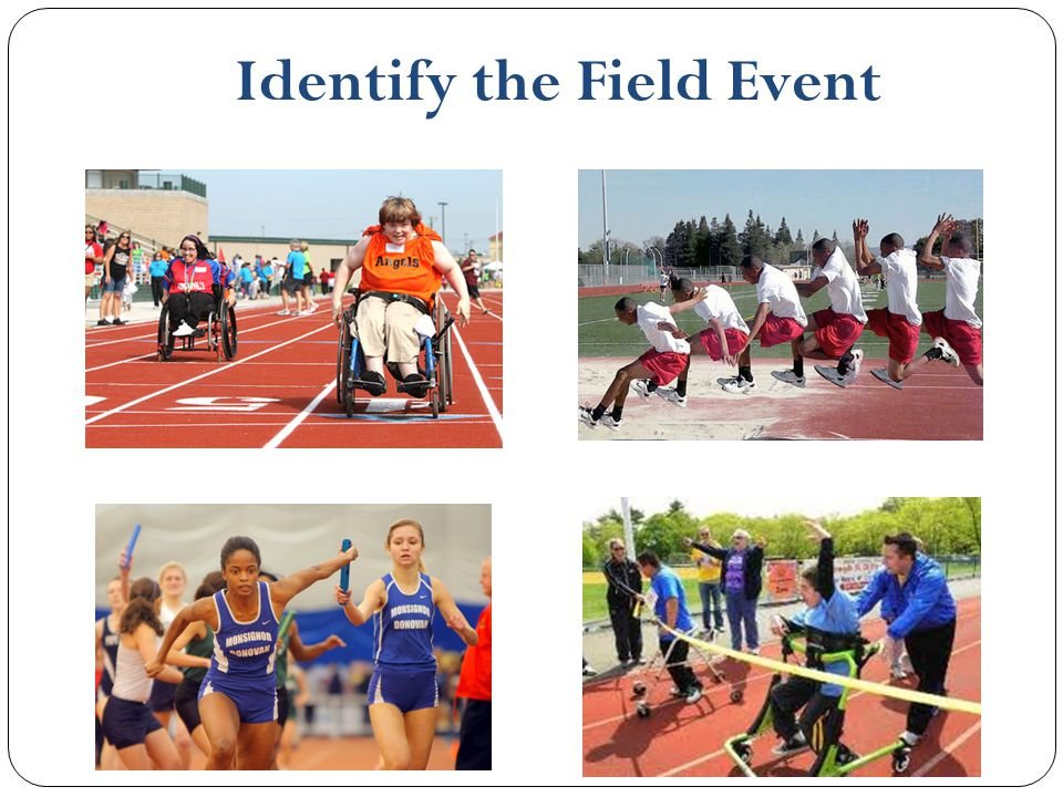 Identify the Field Event