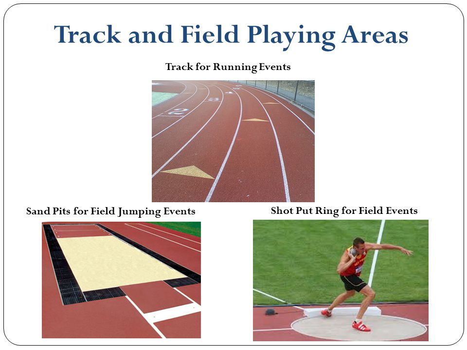 Track and Field Playing Areas