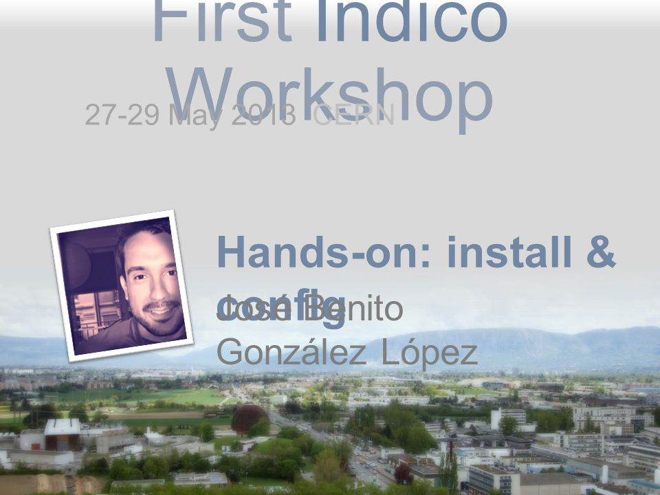 Hands-on: install & config