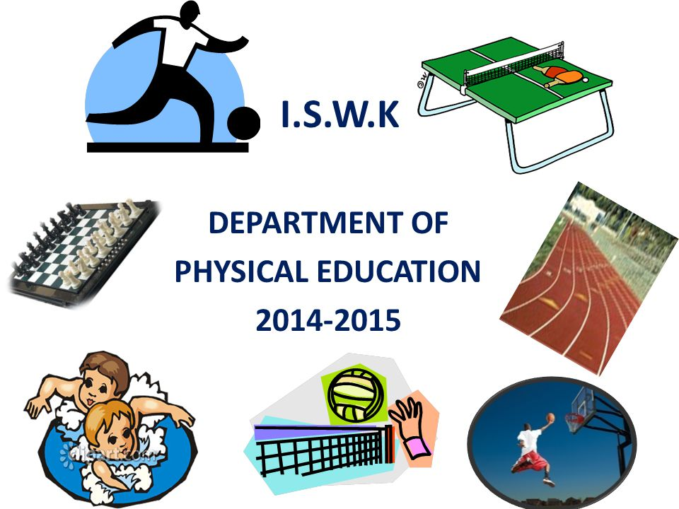 DEPARTMENT OF PHYSICAL EDUCATION 2014-2015
