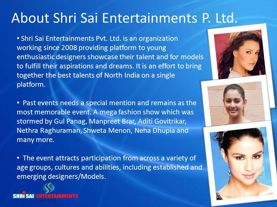About Shri Sai Entertainments P. Ltd.