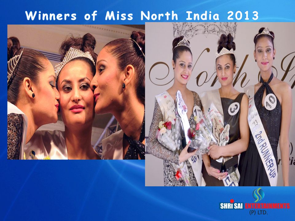 Winners of Miss North India 2013