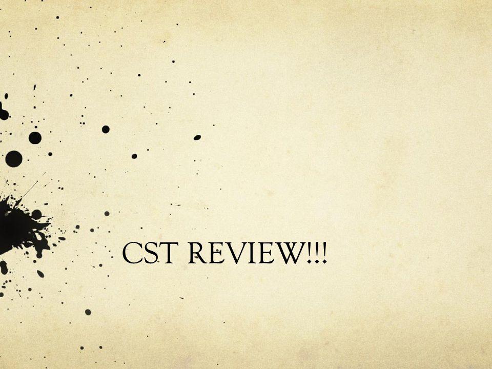 CST REVIEW!!!
