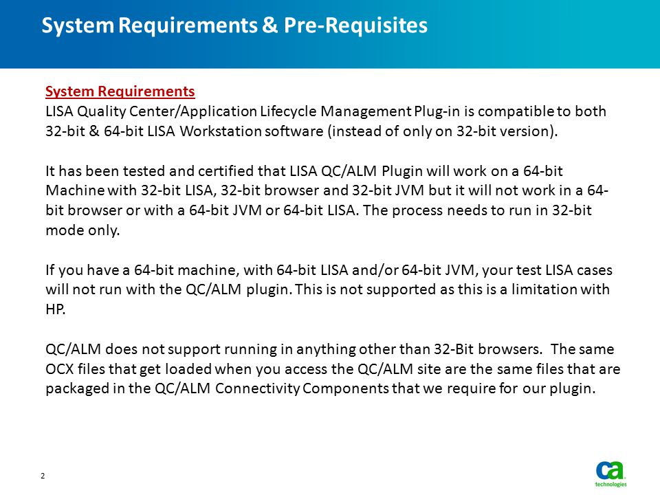 System Requirements & Pre-Requisites