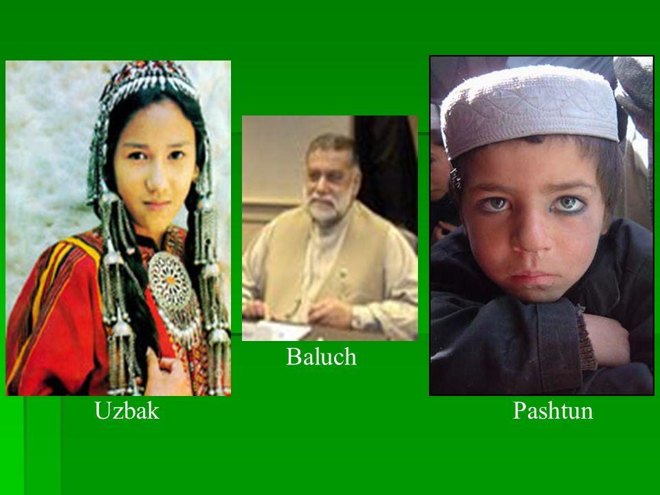 Baluch Uzbak Pashtun