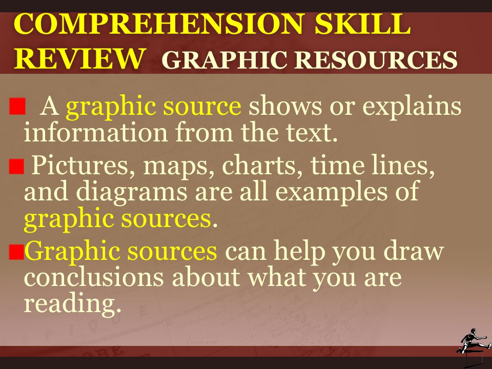 Comprehension Skill Review Graphic Resources