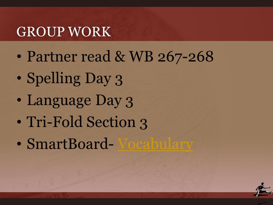 SmartBoard- Vocabulary