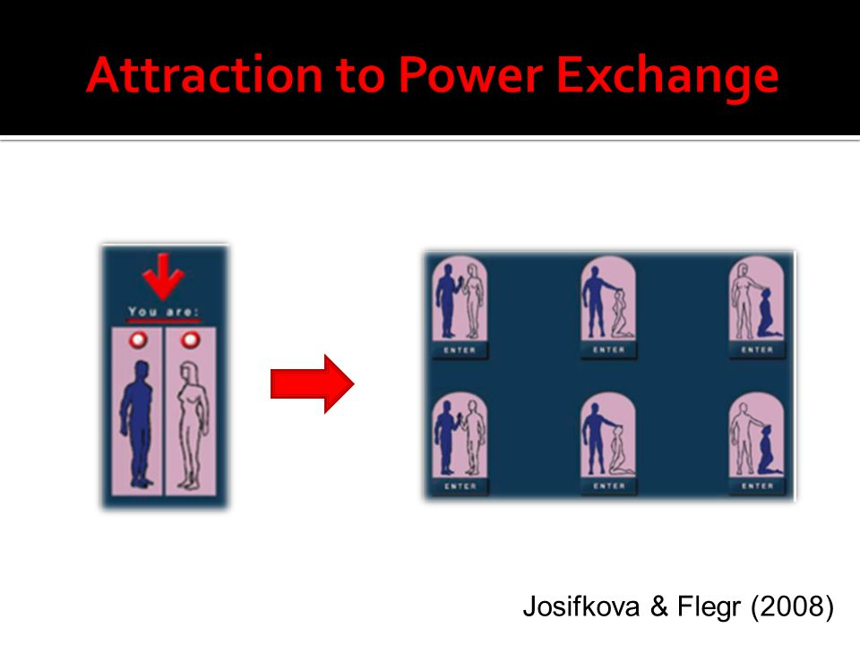 Attraction to Power Exchange