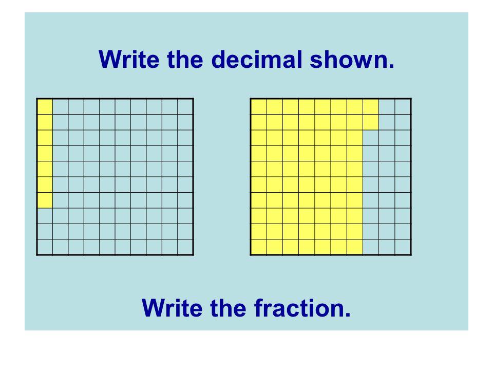 Write the decimal shown.