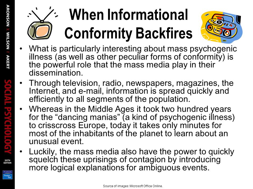 When Informational Conformity Backfires