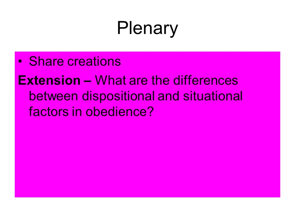 Plenary Share creations