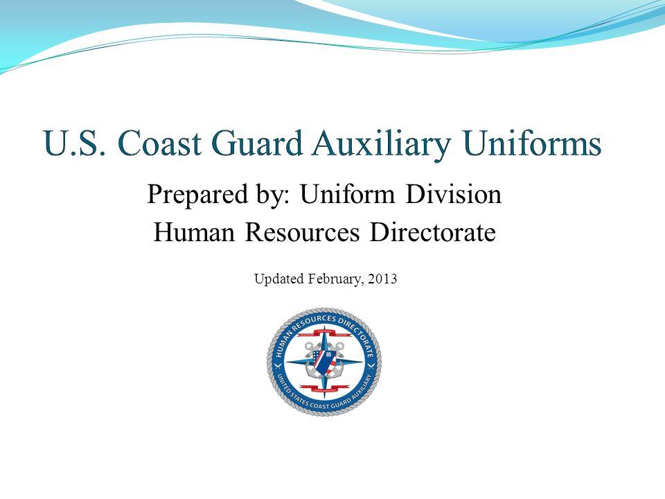 U.S. Coast Guard Auxiliary Uniforms