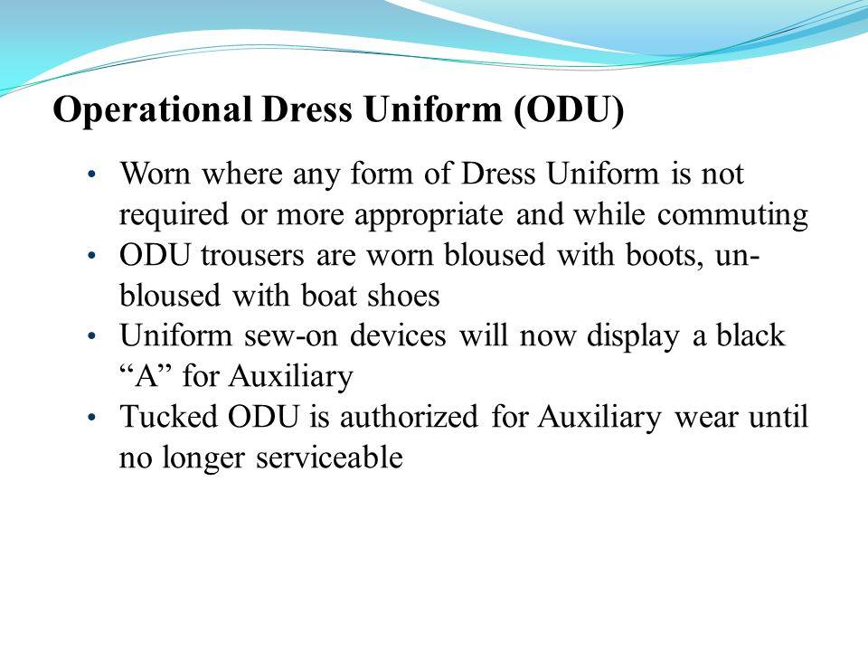 Operational Dress Uniform (ODU)