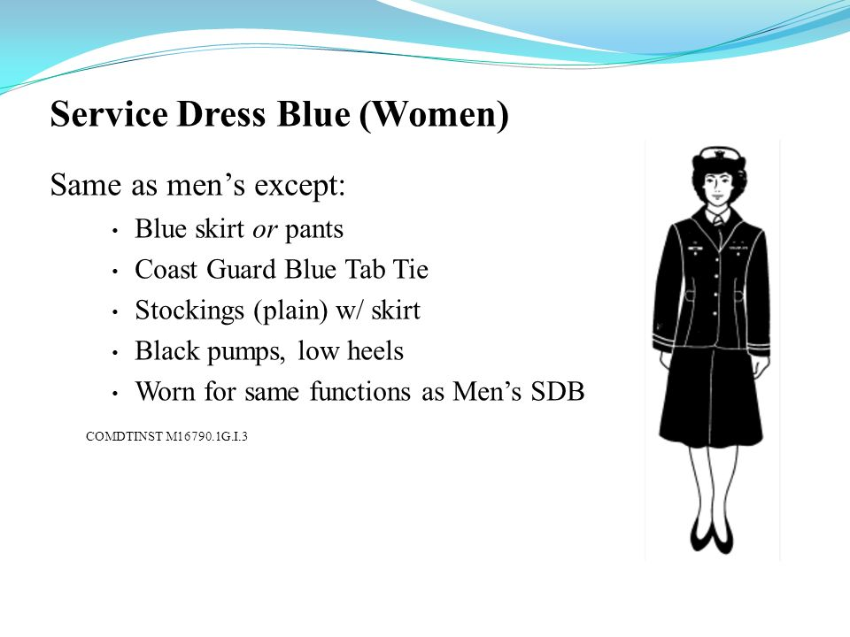 Service Dress Blue (Women)