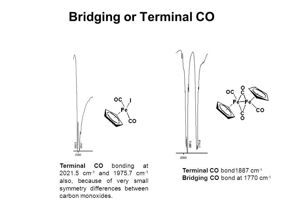 Bridging or Terminal CO