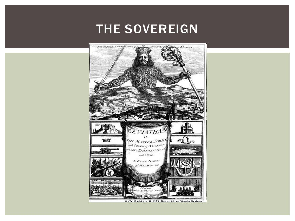 The Sovereign What is the sovereign made of The sovereign is made of people!